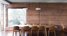 There is something about rammed earth walls that really appeals to me. The rich colour and texture of the compacted earth links the building so well with the natural surrounds – from which th…