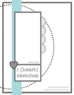 Delightful Inspiration — From The Heart Stamps Blog