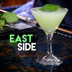 East Side | AwesomeDrinks Cocktail Recipes