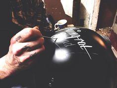 Motorbike helmet customisation