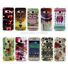 Luxury Quality Soft IMD TPU Design Protective Phone Case for Samsung Galaxy Trend 2 Ace 4 Lite NXT G313H SM-G318H Cover Skin