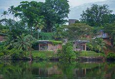 The ecological hotel Tri in Sri Lanka