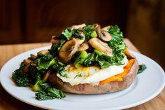 Baked Sweet Potato // Vegetarian & Grain free