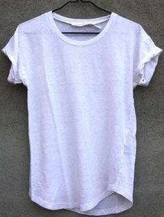 Almost as essential as the little black dress... The little white Tee.