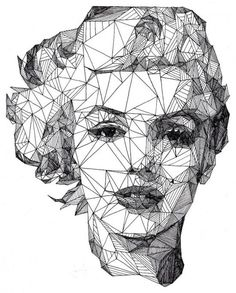 Josh Bryan's Triangulations – Captivating Celebrity Portraits Made with Triangles