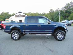 WWW.EMAUTOS.COM JUST LIFTED 2016 Ford F-150 XLT Super Crew 4x4 In Locust Grove VA - E & M Auto Sales #Emautos