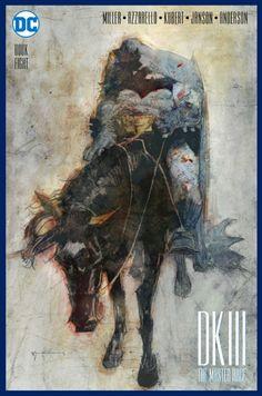 Dark Knight III: The Master Race variant cover by Bill Sienkiewicz Batman Vs Superman, Batman Art, Batman Comics, Fun Comics, Comic Book Artists, Comic Artist, Comic Books Art, Norman Rockwell Paintings, Dark Knight Returns