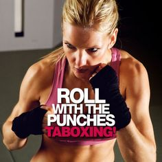 Roll With The Punches with TABOXING--a combination of tabata and boxing drills. #taboxing #tabata #boxing