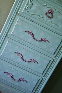 Cinnaberry Suite: Tall Dresser Redo