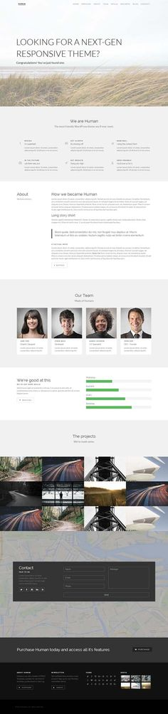 unify responsive website template nulled 15