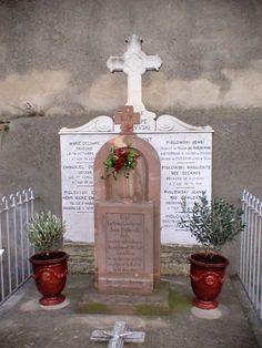 Tombe de Jean Piglowski à Narbonne (Aude, France)