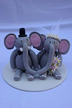 Elephant Wedding | by Verusca's Cake