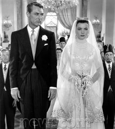 Cary Grant reluctantly walks down the aisle with Betta St. John in The Dream Wife Classic Movie Stars, Classic Movies, Vintage Hollywood, Classic Hollywood, Gary Grant, Wife Movies, Green Movie, Actor Secundario, Cinema Tv