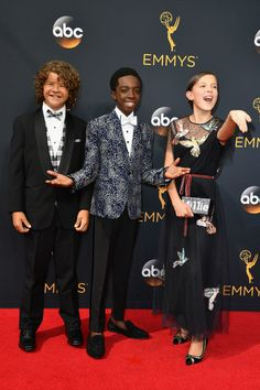 The 'Stranger Things' Cast Is the Best Part of the Emmys Red Carpet