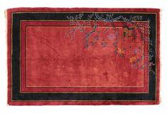 """Antique Chinese Peking Rug, 7'8"""" x 4'11"""""""