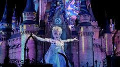 """Celebrate The Magic Castle Projection Show at Walt Disney World in amazing 4K Ultra HD! To view in 4K Ultra HD, click the settings gears and choose """"2160p 4k..."""