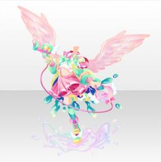 Colorful Splash | CocoPPa Play Wiki | Fandom Anime Outfits, Girl Outfits, Blue Sky Wallpaper, Character Inspiration, Character Design, Adventure Outfit, Hand Accessories, Anime Dress, Cocoppa Play