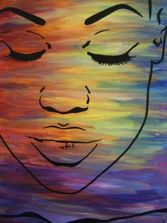 easy abstract oil painting ideas - Google Search