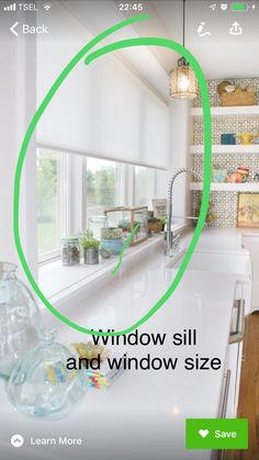 Window Sizes, Windows, Learning, Kitchen, Home Decor, Cooking, Decoration Home, Room Decor, Studying