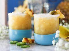 Grilled Pineapple Jalapeño Margaritas |