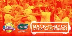 2015 NCAA Softball Championship - GatorZone.com