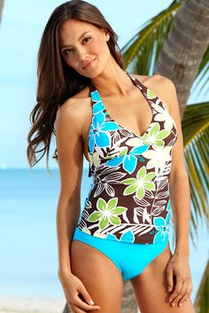 Hapari Swimwear is SO AWESOME!! I just purchased this and love it!!  Kona V-Neck Tankini Top