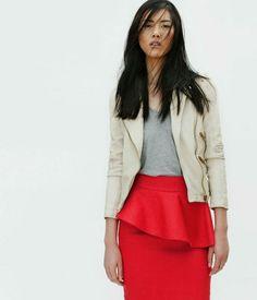 Liu Wen per il lookbook Zara di aprile