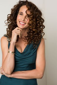 Andie Macdowell Moves Magazine. jeweltone summer