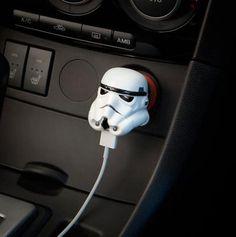 Cargador USB Stormtrooper, Star wars. Para coche Foto 1
