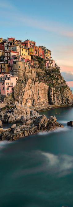 VIDA Leather Accent Tag - Vernazza Cinque Terre by VIDA XfhLObg
