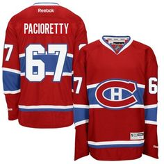 Max Pacioretty Montreal Canadiens Reebok Home Premier Jersey - Red, Size: Small Montreal Canadiens, Reebok, Max Pacioretty, National Hockey League, New T, Mens Fitness, Nhl, All In One, Sweatshirts