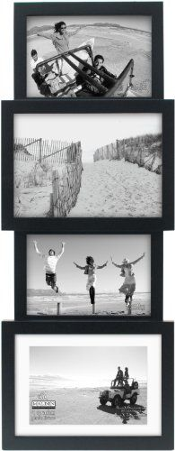 Malden International Designs 4-Opening Collage Picture Frame, Holds 4 by 6-Inch and 5 by 7-Inch Photos, Matted Black Malden International Designs http://www.amazon.com/dp/B00HMG38ZE/ref=cm_sw_r_pi_dp_BA-3tb1DZJ8F97H7
