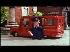 """This special is from the """"happy birthday pat"""" DVD. It's completely remastered and restored in enhanced picture quality and has high quality sound and music. Happy Birthday Pat, Postman Pat, Community Helpers, Stop Motion, You Funny, Pre School, Picture Video, The Voice, Kids Room"""
