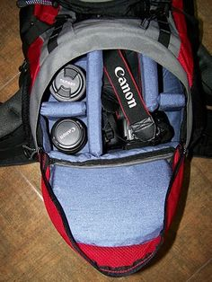 I love, love, love this!! Can't wait to make mine! Still Seconds: How to make a camera backpack - tutorial.