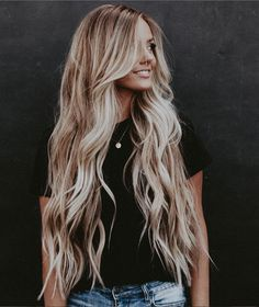 Frisuren 33 Hottest Blonde Balayage Highlights With Layers For Long Hair Design Ideas - Page 23 of 3 Blond Ombre, Brown Blonde Hair, Brunette To Blonde, Blonde Wig, Long Blond Hair, Grey Blonde, Warm Blonde, Blonde Balayage Highlights, Blonde Balayage Long Hair