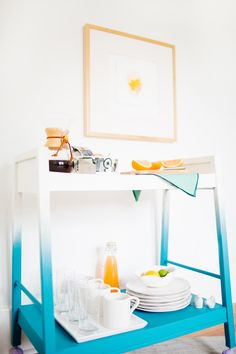 Breakfast Bar Cart Makeover
