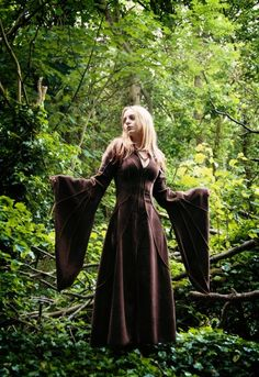 Alternative Clothing - Haunted Hawtin Coat - Faery - Alienskin Clothing: Hand made