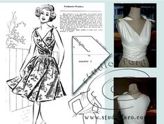 Vintage Pattern Making The Effective Pictures We Offer You About blo Pdf Sewing Patterns, Vintage Patterns, Clothing Patterns, Vintage Sewing, Dress Patterns, Vintage Crochet, Pattern Cutting, Pattern Making, Handmade Clothes