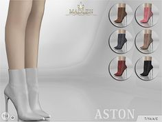 Sims 4 CC's - The Best: Madlen Aston Boots by MJ95