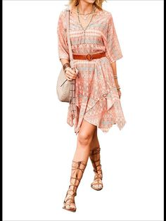 Design från Aniston. Vacker klänning i aprikos färg. Mini, Shopping, Dresses, Design, Fashion, Vestidos, Moda, Fashion Styles
