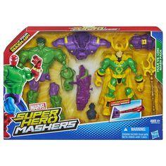 Hasbro® Avengers Super Hero Mashers Hulk Vs Loki... : Target