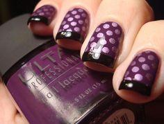 purple nails (4)