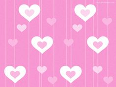 Pink Hearts Wallpaper High Definition #p10