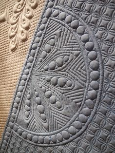 Trapunto quilting: Türquilt (door quilt) by Grit in Australia | Grit's Life