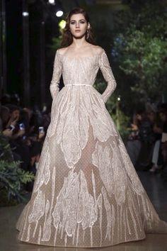 Elie Saab Couture Spring 2015 — Backstage
