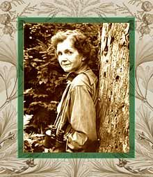 Rachel Carson - best known for her 1962 book, Silent Spring, and widely credited with inspiring the modern-day environmental movement.