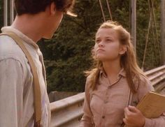 Young Reese Witherspoon in Wildflower