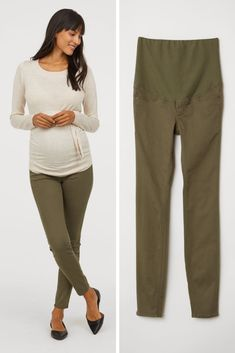 1eadc3a080c59 Did you know H&M has a maternity line? Find these super cute maternity