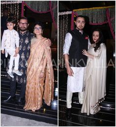 Little Azad is adorbs as he revels in Diwali with parents Aamir and Kiran