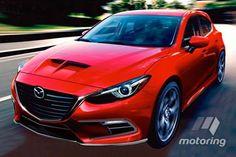 Mazda3 MPS turbo looms - motoring.com.au